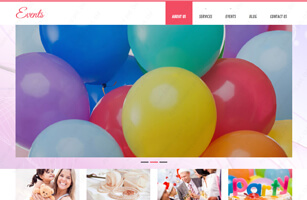 Event Management Website